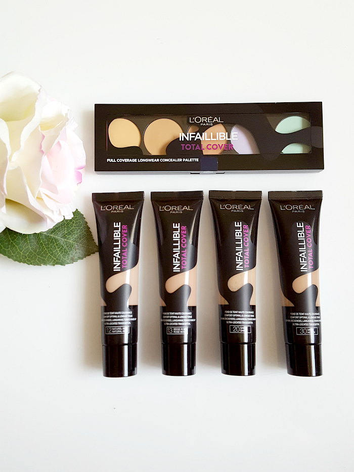 Review: L´Oréal Paris - Infaillible Total Cover Foundation & Concealer Palette
