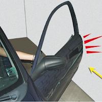 protection autocollante pour portière de voiture