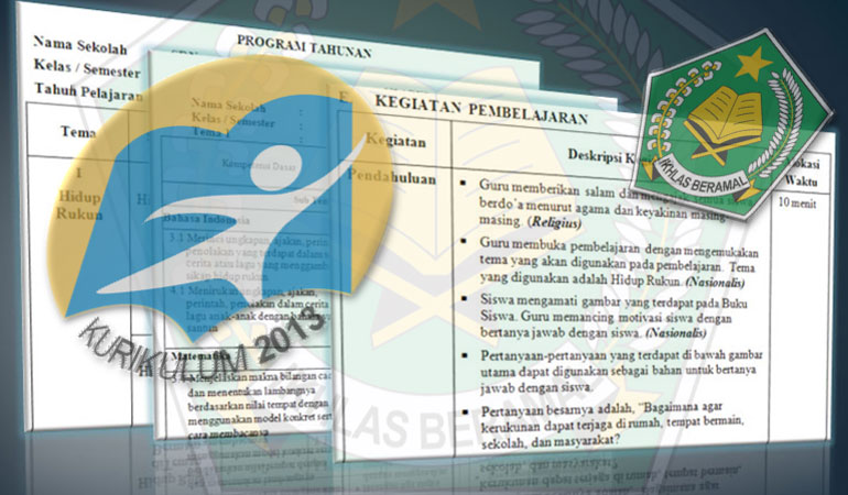 RPP Silabus Prota Promes Kelas 6 SD MI Kurikulum 2013 Revisi 2017