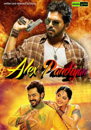 Alex Pandian 2013 HDRip 500MB UNCUT Hindi Dubbed Dual Audio 480p Watch Online Full Movie Download bolly4u