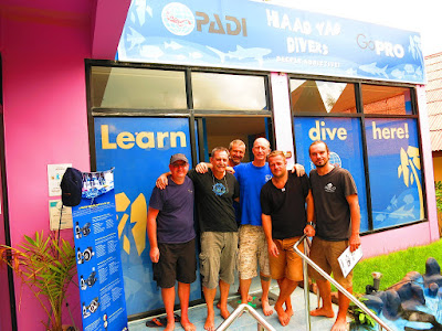 PADI IDC for December 2016 has started on Koh Phangan