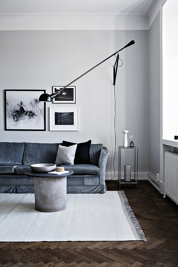 Scandinavian living room via Alvhem