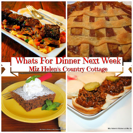 Whats For Dinner Next Week * Week of 9-23-18