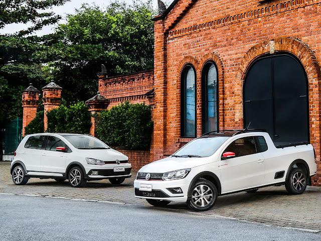 VW Saveiro e Fox Pepper 2018