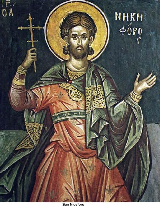 Resultado de imagen para San Nicéforo de Constantinopla