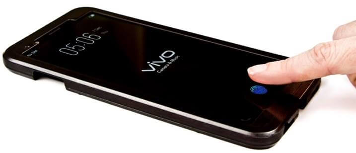 Vivo Smartphone To Have The First In-Screen Fingerprint Sensor