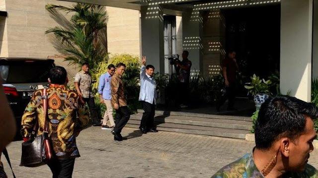 SBY Beri Prabowo Tips Raih Simpati Rakyat Saat Debat