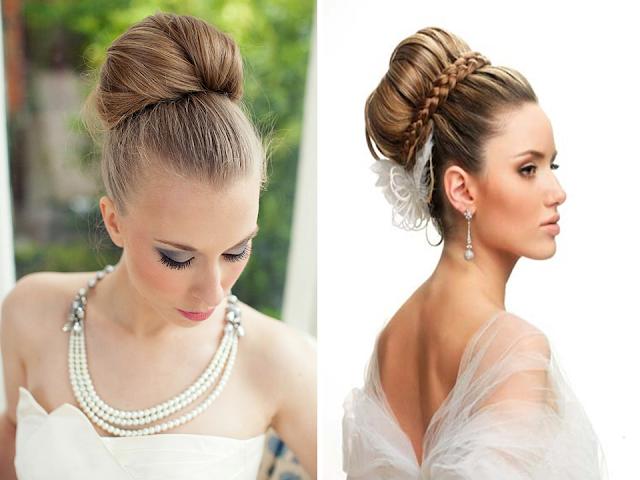 penteado coque diferente para noiva