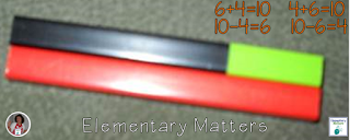 Learning Math Facts with Cuisenaire Rods and a Freebie - Cuisenaire Rods are fun for the kids and helpful for learning valuable math concepts. Here are some ideas!