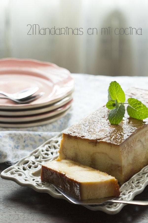 Pudin de roscón de Reyes (pudding). Receta de aprovechamiento