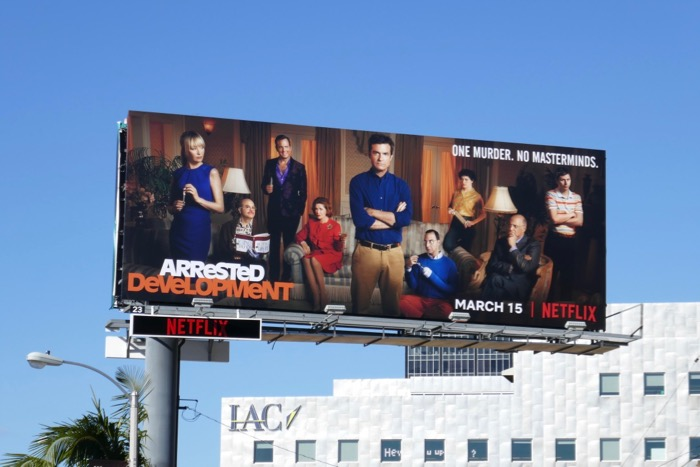 Arrested Development midseason 5 billboard