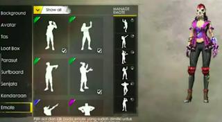 Cara membeli dan menggunakan emote free fire dalam pertandingan mudah banget.