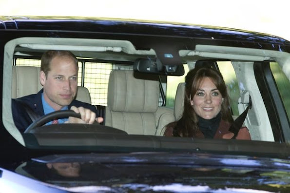 The Duchess of Cambridge attended morning prayers at the Crathie Church