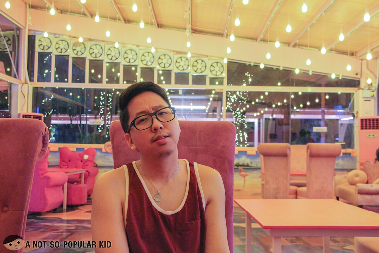 Renz Cheng in Pink Bird, Quezon City