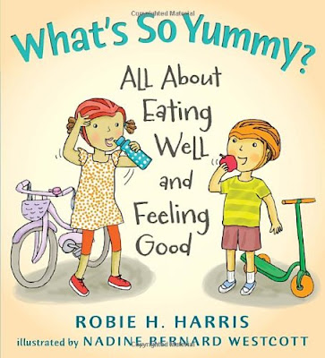 What's So Funny? All About Eating Well and Feeling Good, part of children's book review list about healthy eating