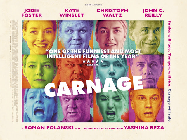 Carnage - film poster - Smiles will fade