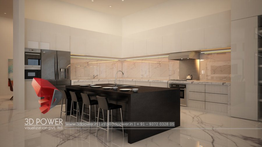 3d interior designs interior designer top 3d designing for Interior design kitchen in pune