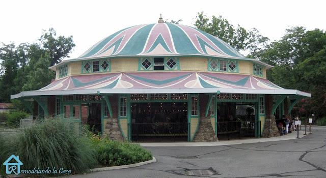 Glen Echo park - Dentzel Carousel