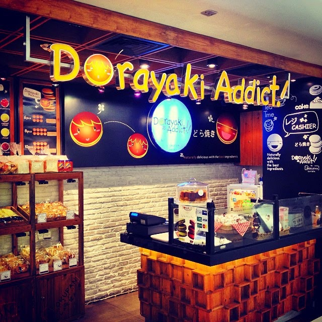 Dorayaki Addict shop in Vietnam.
