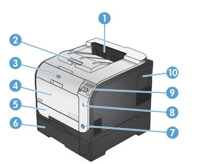 Hp laserjet pro 400 color printer m451 series guías de usuario.