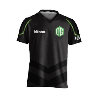Baju Kaos Jersey Gaming Team OG Logo