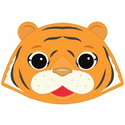 Tiger Mask Printable - Masks for Children