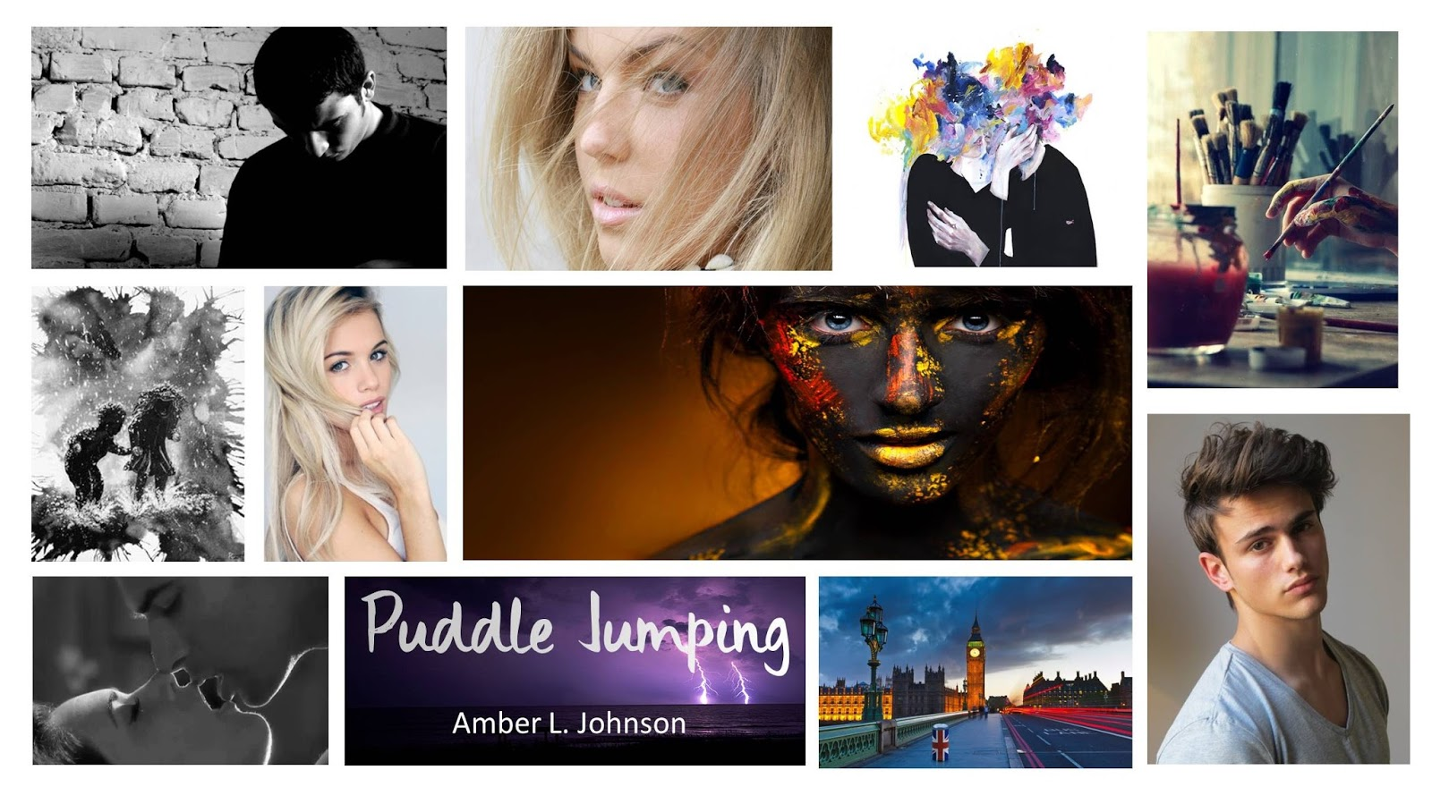 Review - Amber L. Johnson: Puddle Jumping
