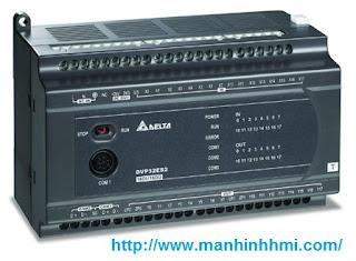 Bộ điều khiển lập trình PLC Delta DVP32ES200T / DVP32ES200R