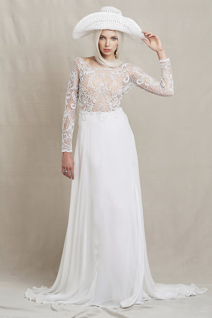 MODERN BOHEMIAN WEDDING DRESS DESIGNER