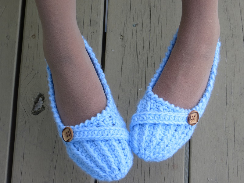 Crochet Dreamz: Anne Lee Slippers, Crochet Slipper Pattern for Women ...