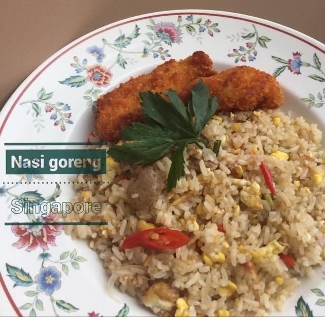 Resep nasi goreng ala singapore ala rumah makan ciwidey