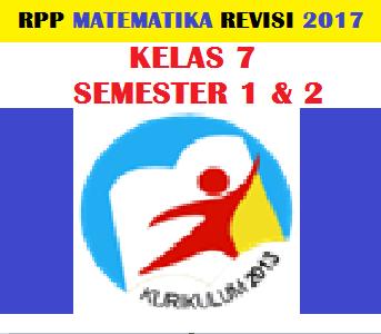 gambar rpp matematika kelas 7 k13 revisi 2017 Doc