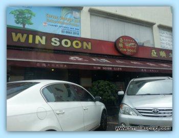 Small Kucing Fish Head Noodles At Win Soon Cafe Bandar Puteri Puchong