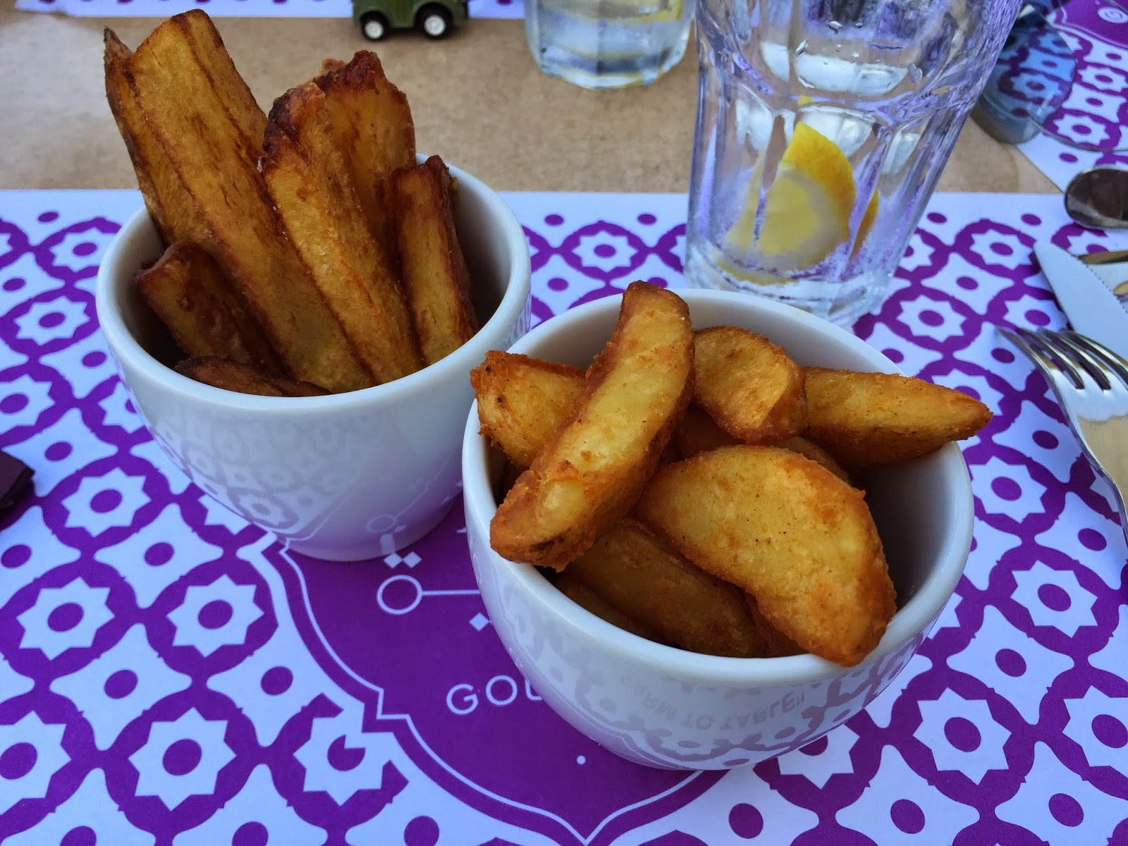 Omnia Gourmet: hand cut fries