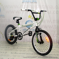 20 Inch Pacific Hot Shot TX08 6061 Aluminium Alloy BMX Bike