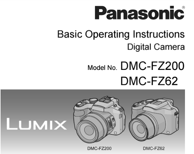 Panasonic Lumix DMC-FZ200 Manual