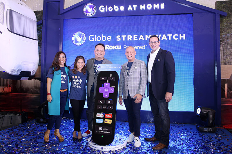 Globe Launches Roku-Powered Streamwatch For Better Streaming Experience