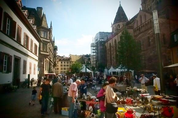 Strasbourg brocante