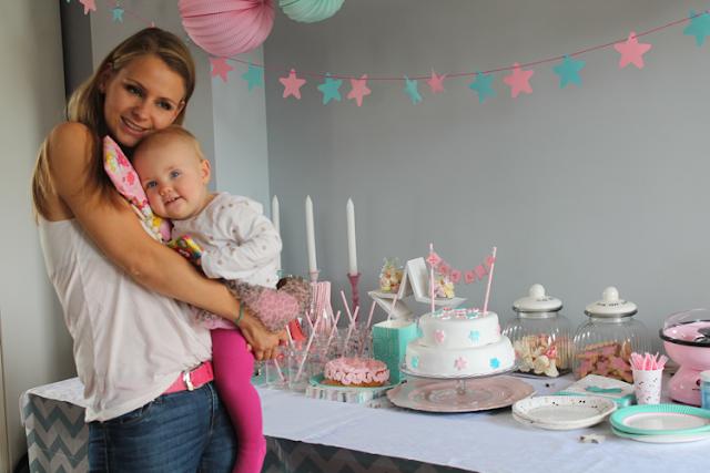 eerste verjaardag moeder en dochter