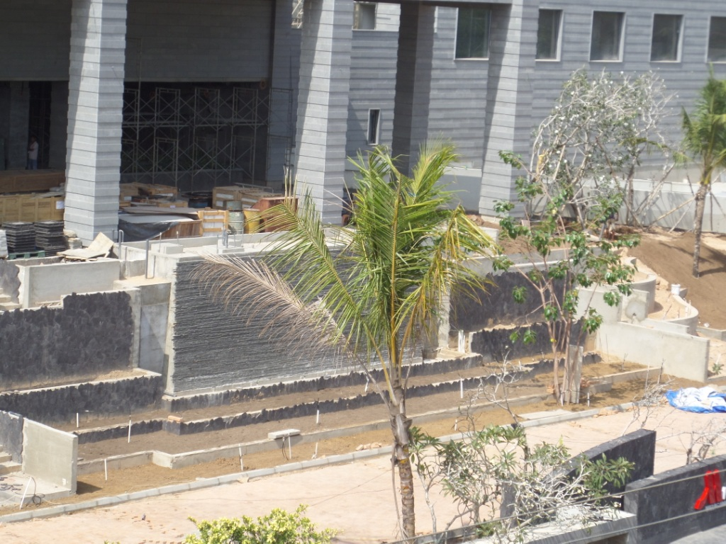 Marriott weligama bay resort spa construction for Spa construction
