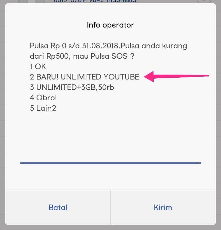 Cara aktifasi paket unlimited ooreedoo