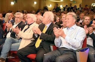 Ο Γιάννης Σγουρός παρουσίασε τους υποψήφιους συμβούλους στο Περιστέρι