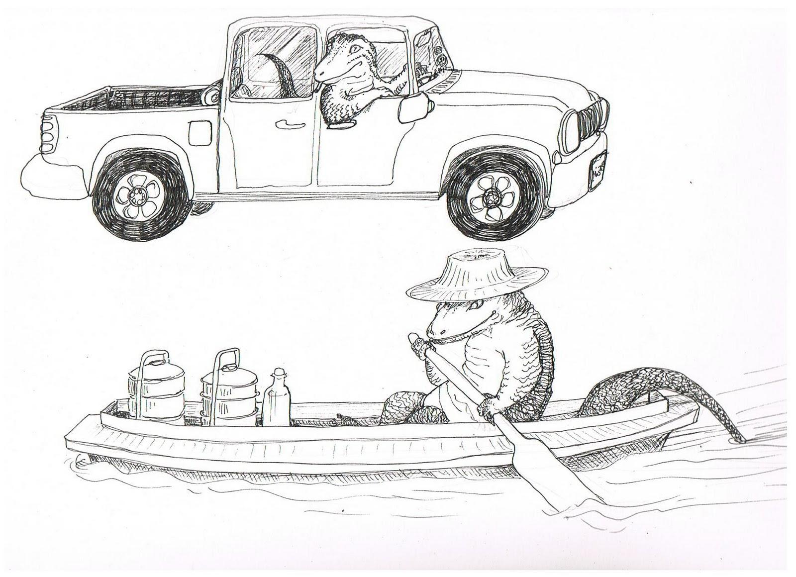 Ajarn Cartoon January