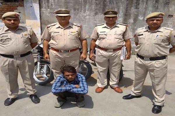 यमुनानगर पुलिस ने मोटर्साइिकल चोर गिरोह को दबोचा