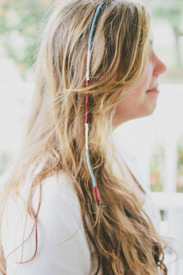 always rooney: Hair Wrap Tutorial