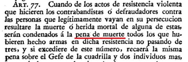 Decretos de la Reina Nuestra Señora Doña Isabel II, vol. 15, 1831, pena de muerte