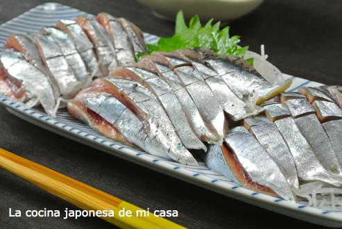 Sashimi de Sanma