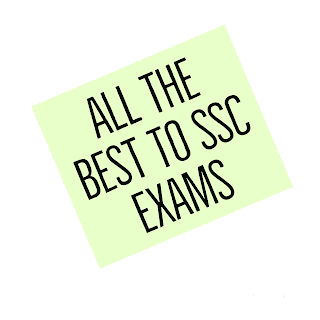 All the best images to SSC students EXAMS