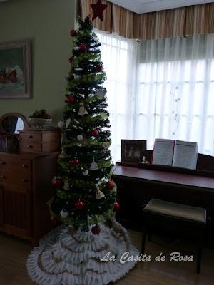 tutorial tapete arbol de navidad