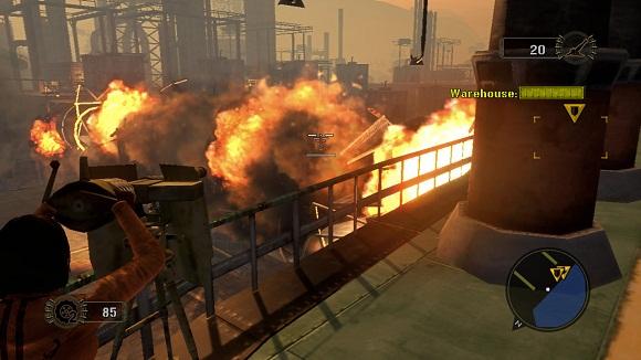 Mercenaries 2 World in Flames PC Free Download Screenshot 1